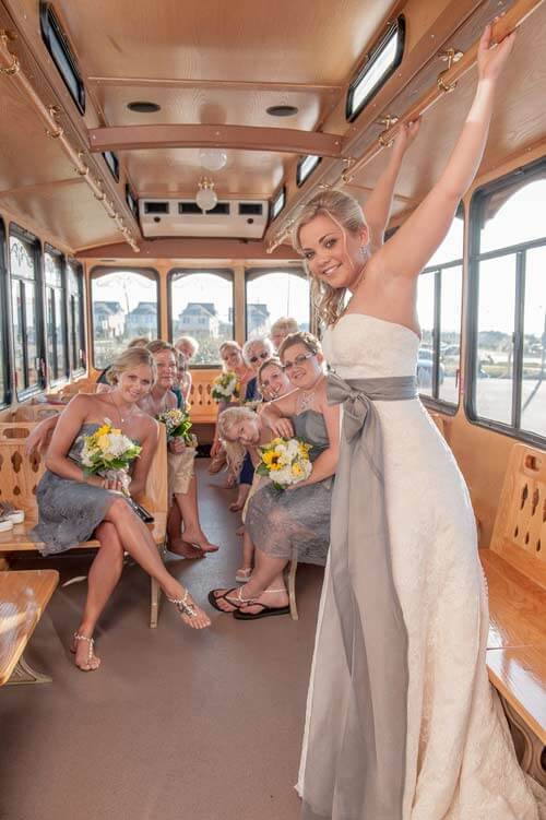 obx wedding Trolley